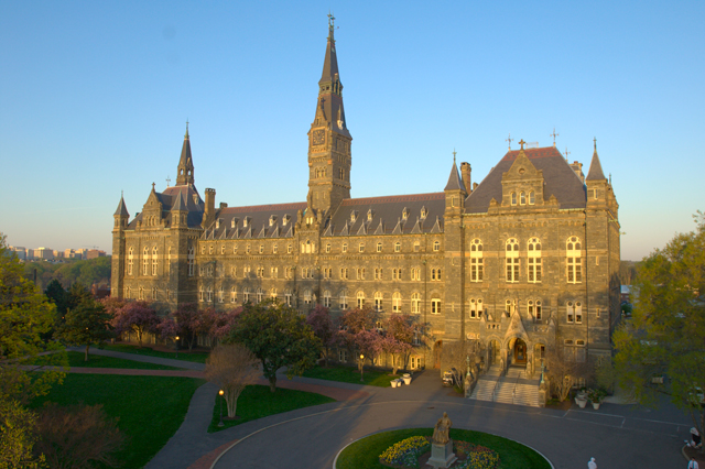 georgetown university admission requirements