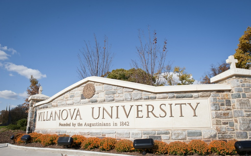 villanova university admissions