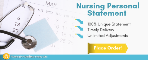 personal statement adult nursing help