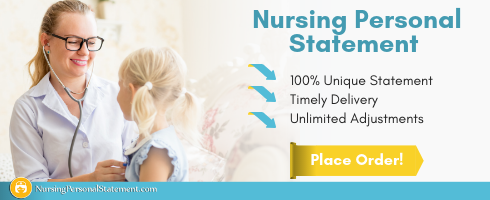 personal statement for child nursing help