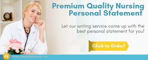 expert sample nursing personal statement