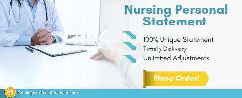 nursing student personal statement help
