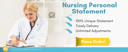 professional nursing personal statement sample