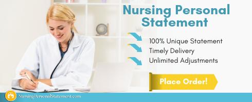 professional nursing personal statement sample