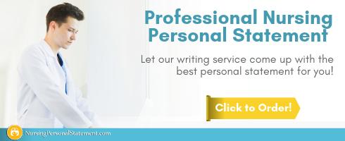 student nurse personal statement help