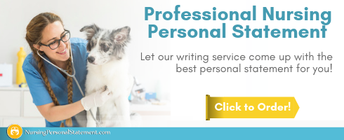 veterinary nurse personal statement help